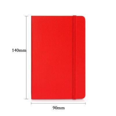 Deli stationery pocket notebook small pocket notebook notepad mini portable notebook daily memos PU cover copybook