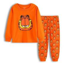 NEW Design kids pajamas Sets Baby Girls / boys Pajamas Suit cartoon long Sleeves children clothing set LP010(China)