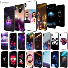 Lavaza PNL Rapper Soft Case for Apple iPhone 6 6S 7 8 Plus 5 5S SE X XS MAX XR TPU Cover