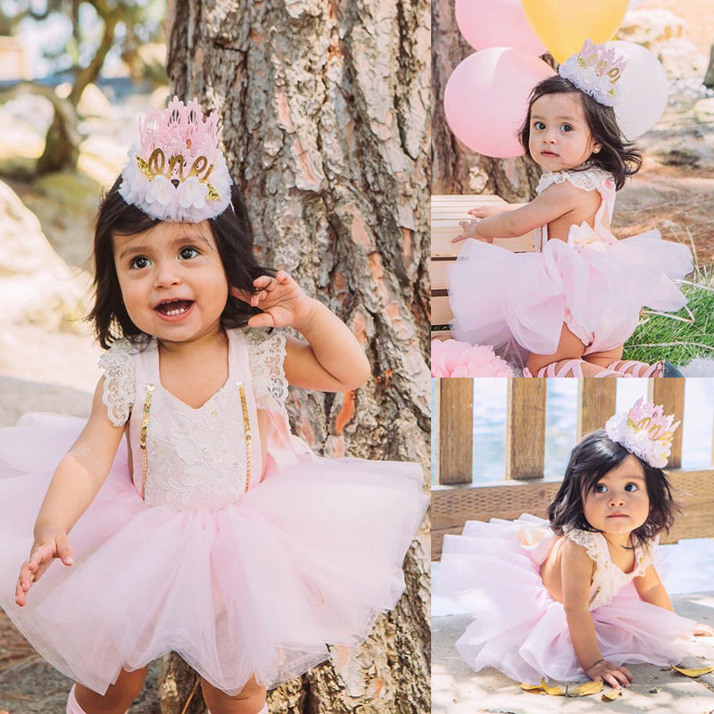 Cute Newborn Baby Girl Clothes Princess Toddler Kids Lace Romper Bodysuit Sunsuit + Tutu Tulle Bow Skirt 2PCS Outfit Clothing 2017 floral baby romper newborn baby girl clothes ruffles sleeve bodysuit headband 2pcs outfit bebek giyim sunsuit 0 24m