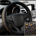 Summer viscose carved car steering wheel cover steering wheel cover auto supplies exhaust pipe cover