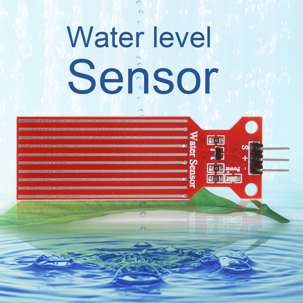 цена на 1PC High Sensitivity Water Liquid Level Sensor Rain Water Level Sensor Module Detection Liquid Surface Depth Height for Arduino