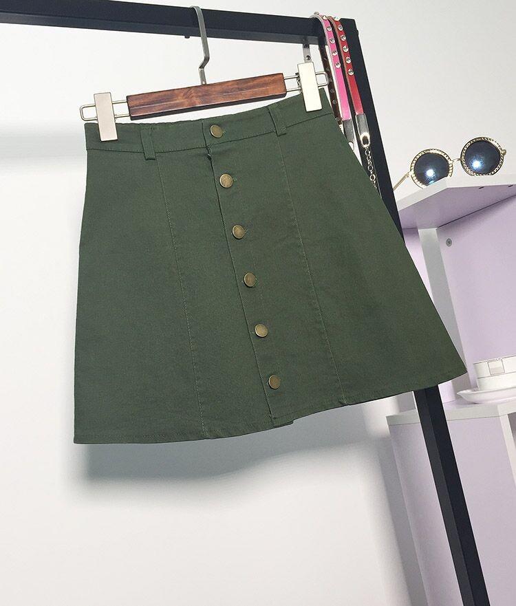 HTB11alnMFXXXXXaXXXXq6xXFXXXH - American Apparel button Denim Skirt JKP265