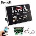 Alta Qualidade Universal de Viagem Portátil LEVOU 12 V Carro MP3 Player Bluetooth RC Controle Remoto decodificador Bordo Rádio FM USB SD AUX Conjunto