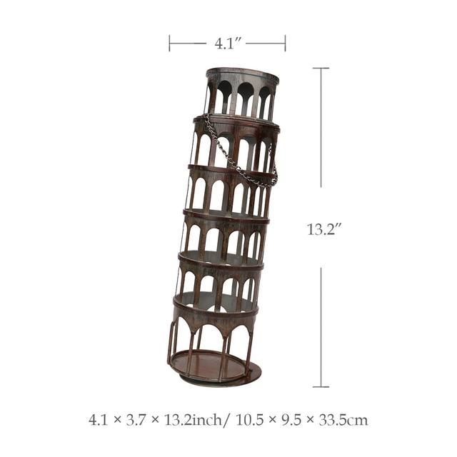 Tienda Online Tooarts metal Torre vino botella clásica exhibición de ...