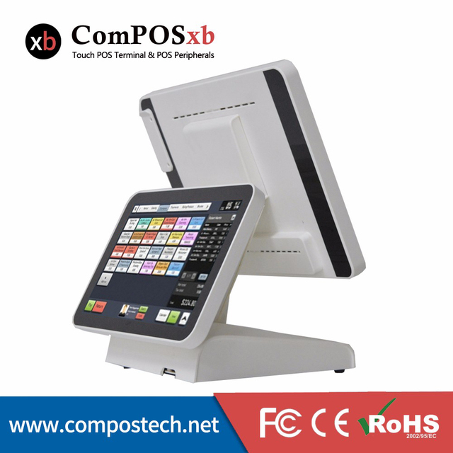 POS1619D Restaurant Touch POS System Terminal All In One Pos Machine