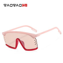 New Flat Top Sun Glasses Oversized Goggles Mens Square Sunglasses Women Fashion Famous Brand Black Eyewear Gafas de sol hot brand new 2017 summer cool women mens hd sunglasses driving goggles sun glasses eyewear gafas de sol hombre z1