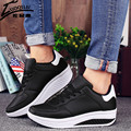 Woman Platform Shoes Swing Wedges Breathable Shoes Women Mesh Walking Chaussure Femme Tenis Feminino