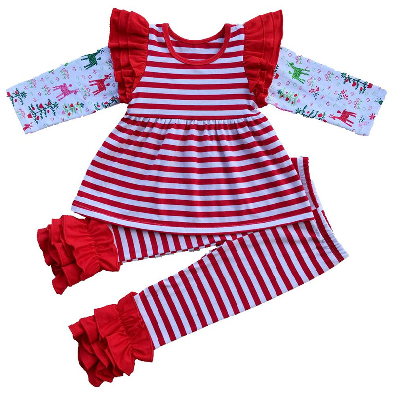 a7aec1446a24 2017 Autumn boutique outfits girl clothing set easter kids outfit ...