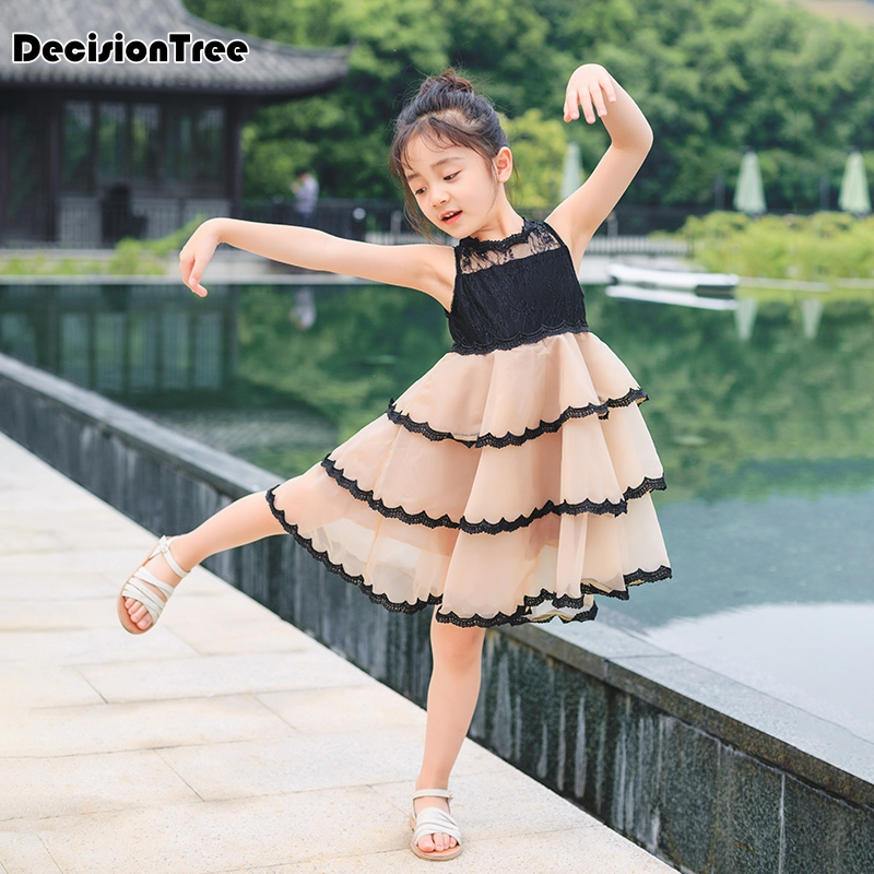 2019 new girls dresses cartoon wings tutu dress for girls kids princess dresses girls clothes robe enfant clothes 1