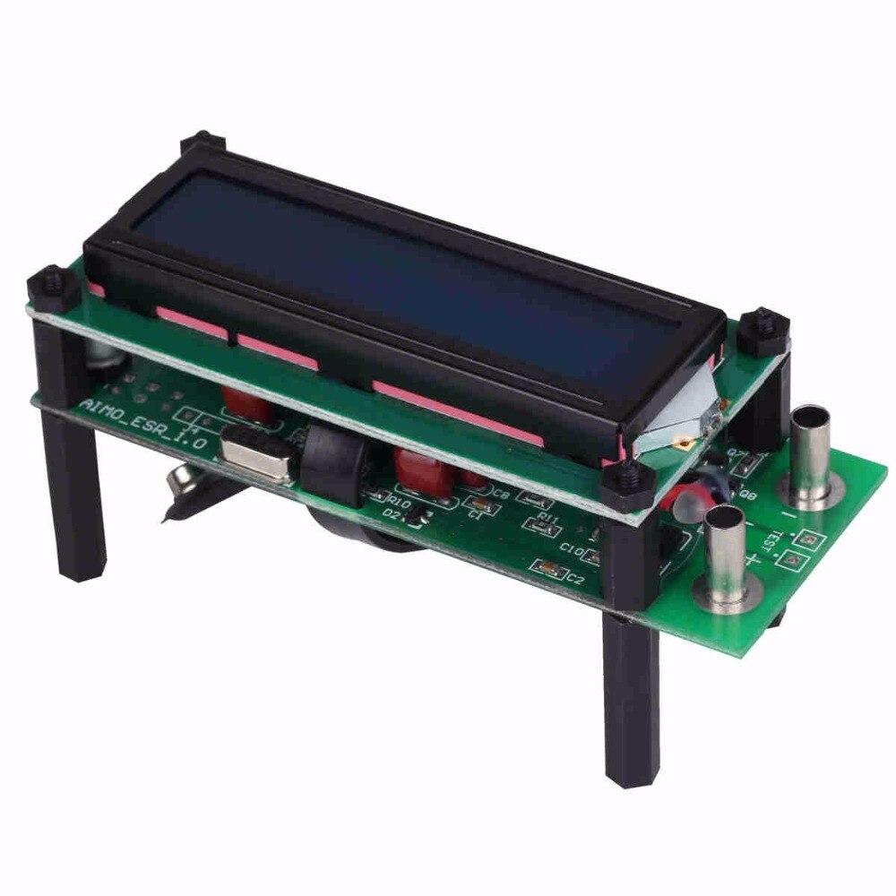 Aimometer ESR01 Capacitor ESR Meter Tester Capacitance Meter LCR Meter w/3kHz & 72kHz Signal