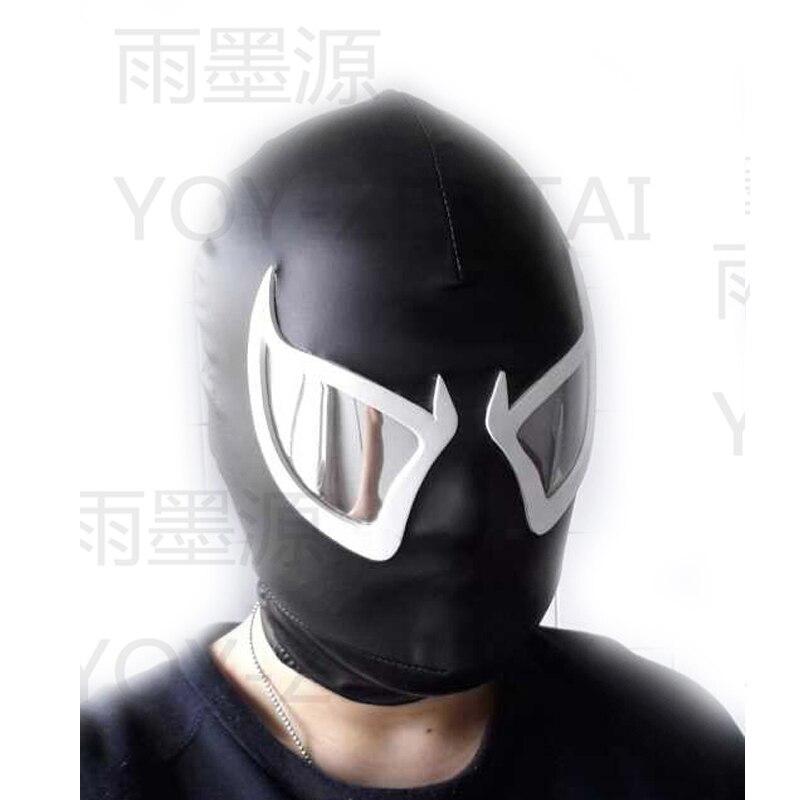 MovieCoser meilleure qualité venin Cosplay masque venin Spiderman masque visage venin Spiderman Cosplay masque noir Spiderman