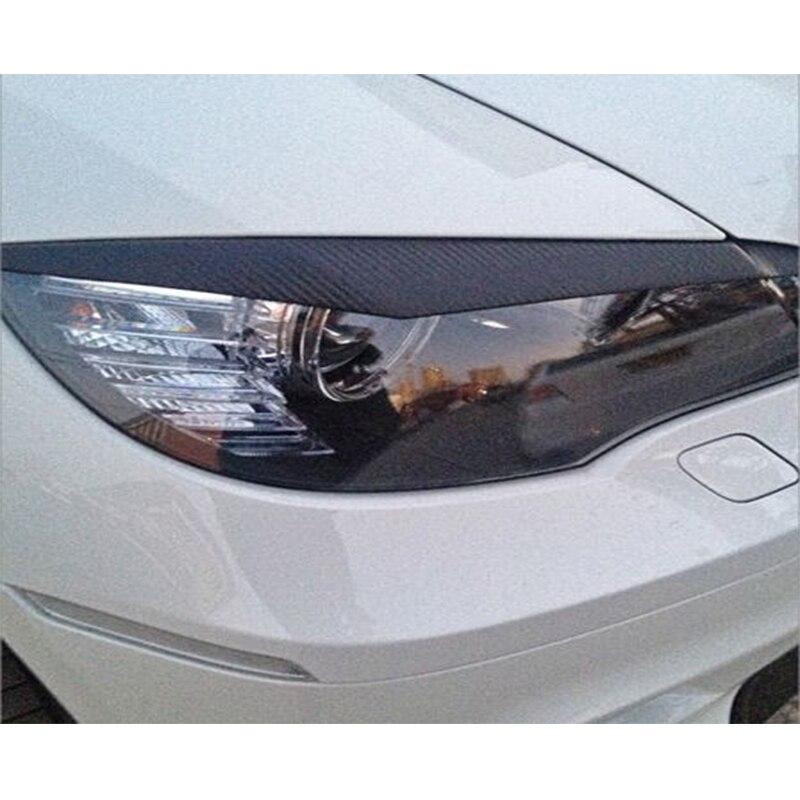 Accessoires de voiture E70 X5 fibre de carbone paupière de phare pour BMW X5 E70 2007-2013