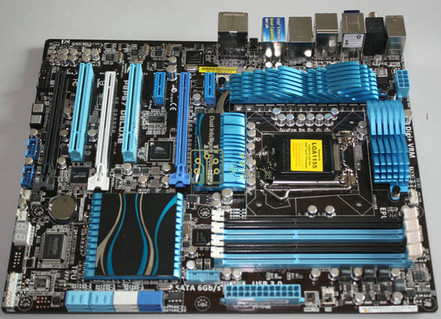 P8P67 Deluxe DDR3 LGA 1155 for I3 I5 I7 32nm CPU 32GB USB3.0 SATA3 P67 motherboard
