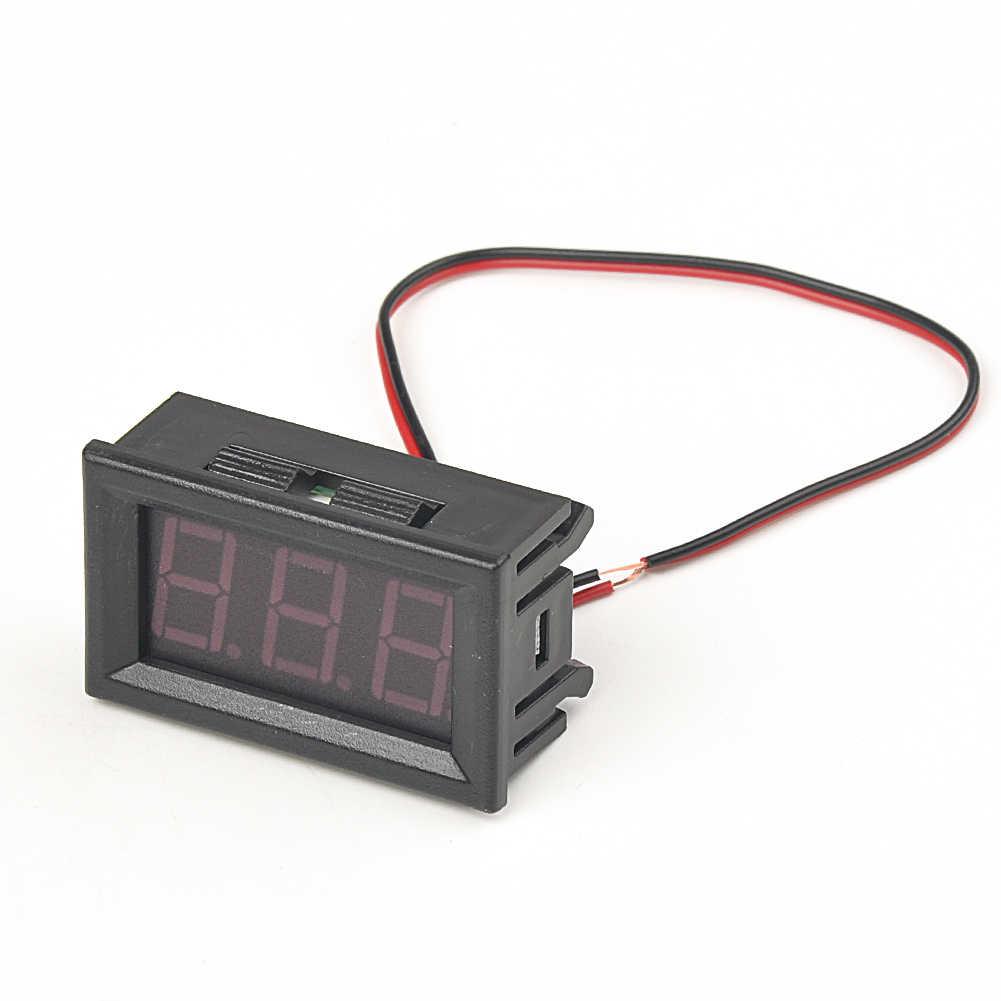 1 шт. цифровой вольтметр Амперметр voltimetro красный Мини светодиодный ампериметр вольтметр датчик, вольтметр D-C оптовая продажа