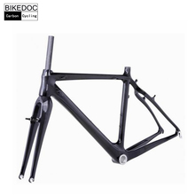 BIKEDOC Carbon Frames High Quality Carbon Cyclocross Frame 700C Light Weight Full Carbon Bike Frames