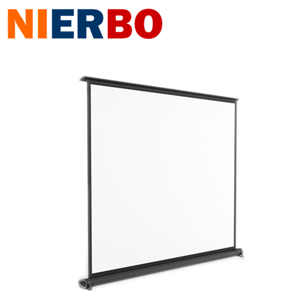 50 Inch  Desk Projection Screen 4:3 easy carrying for Office Meeting Front portable Projection muti-function Free Shipping 180 16 9 fast fold front and rear projection screen back