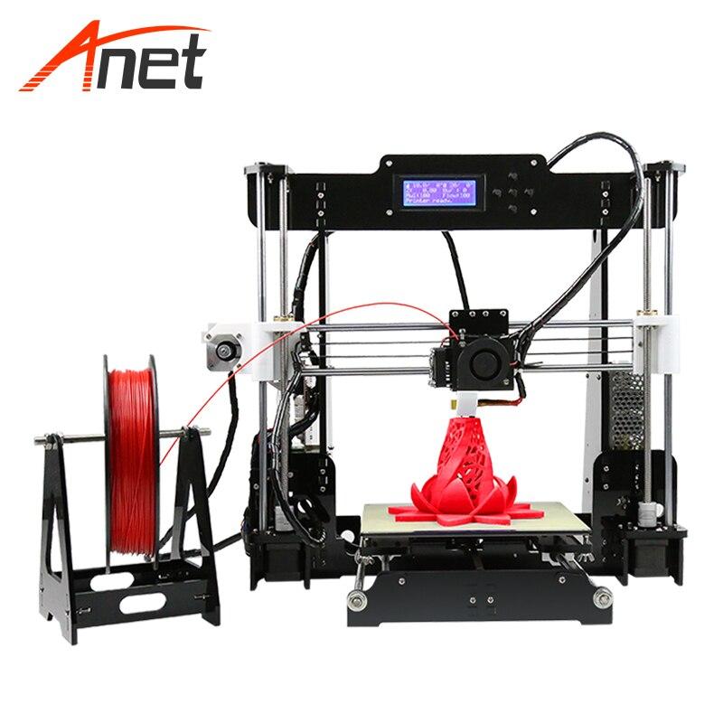 Anet A8 AutoLeveling 3d Imprimante Kit 240 w Chauffage Rapide Numérique Imprimante Aluminium Chauffage Lit Impresspra 3d Plus Populaire 3d imprimante