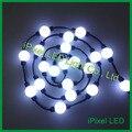12 V 50mm de Pixel ws2801 3D cristal magia levou bola de luz