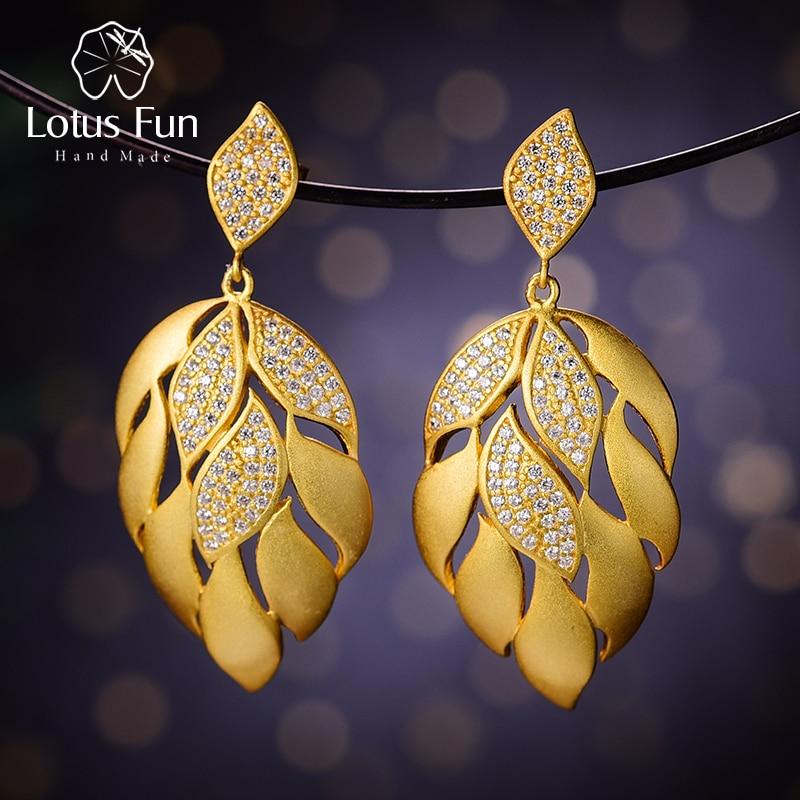 lotus fun earings