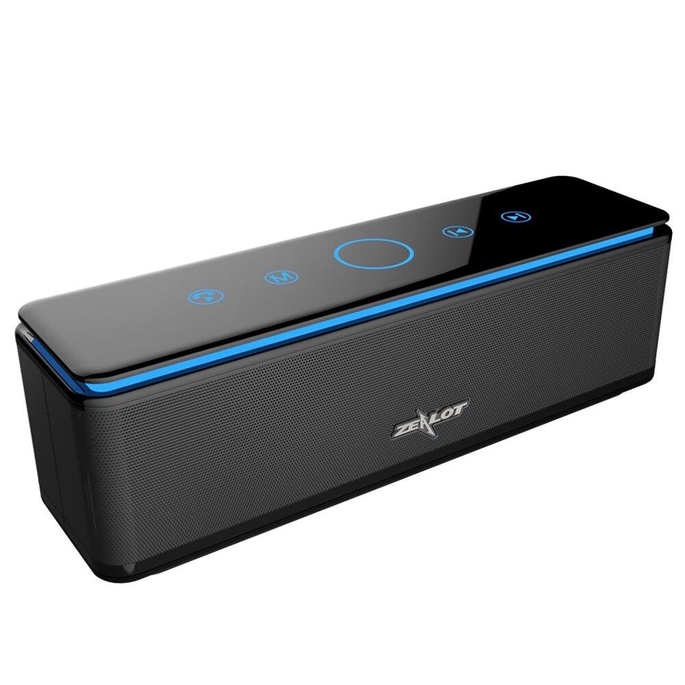 ZEALOT S7 Leistungsstarke Tragbare Bluetooth Lautsprecher subwoofer 4 Lautsprecher Hifi Heimkino Sound Audio System Drahtlose Lautsprecher