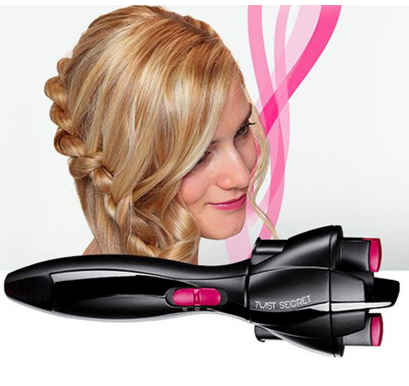 Automatically Publish Braider Quickly Tie Braid Machine Electric Hair Styling Tools 20*7.4*24.8cm DIY Hair Essential