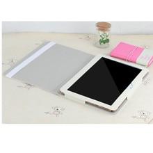 Waywalkers t805c tabletas e-books case case para inteligente de cuero pu cubierta de la tableta de cuero protectora shell libro de negocios