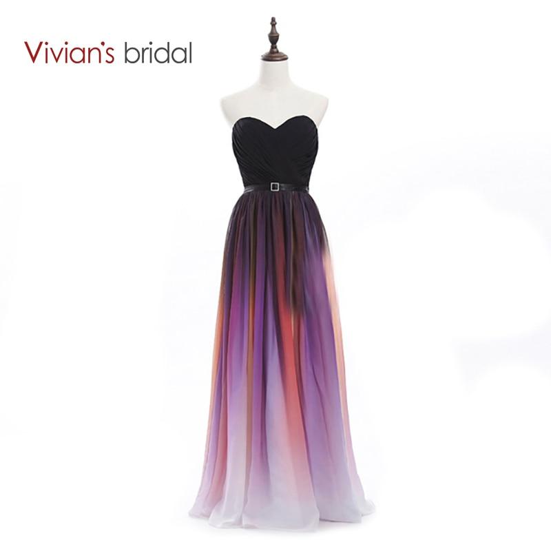 Vivian's Bridal Elegant Sweetheart A-Line Färgglada Långa - Särskilda tillfällen klänningar - Foto 1
