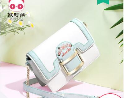 Princess sweet lolita bag Summer small bag girl small fresh fashion Single Shoulder Satchel chain hit small square bag 171873
