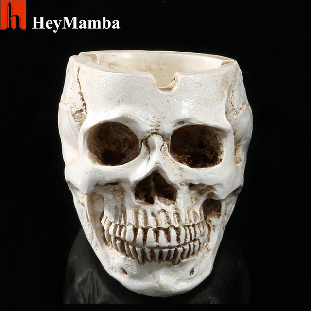aliexpress : buy white human skull planter archaize garden, Skeleton