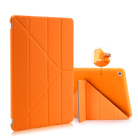 For iPad 9.7 2017 Case A1822 A1823 Fold Stand Leather Case Smart Cover Protector For iPad   2   3 4 5 6 Air   2     1   For ipad Mini 4 3   2