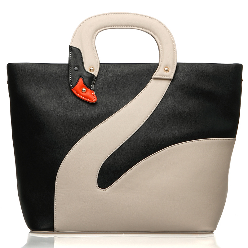 New collection 2015 Brand fashion women handbags high quality designers shoulder bags for woman  white swan bag