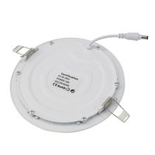 LED Recessed Ceiling Flat Panel Down Light Ultra-thin Round Lamp with Driver Super Bright Lighting for Office/Home/Commercial