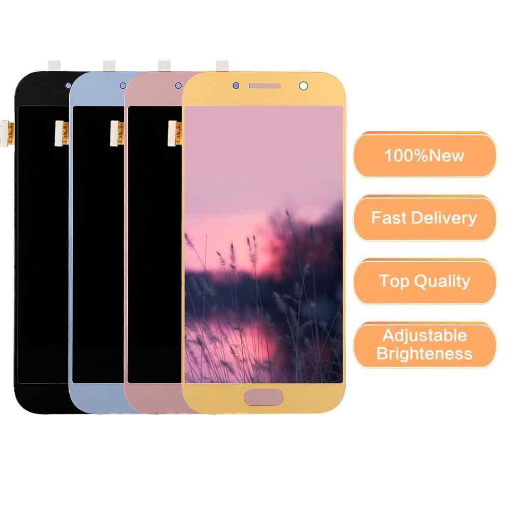 A520f شاشات LCD لسامسونج غالاكسي A5 2017 lcd A520 SM-A520F شاشة الكريستال السائل التحويل الرقمي لمسة الشاشة ل samsung a5 2017 عرض A520 LCD