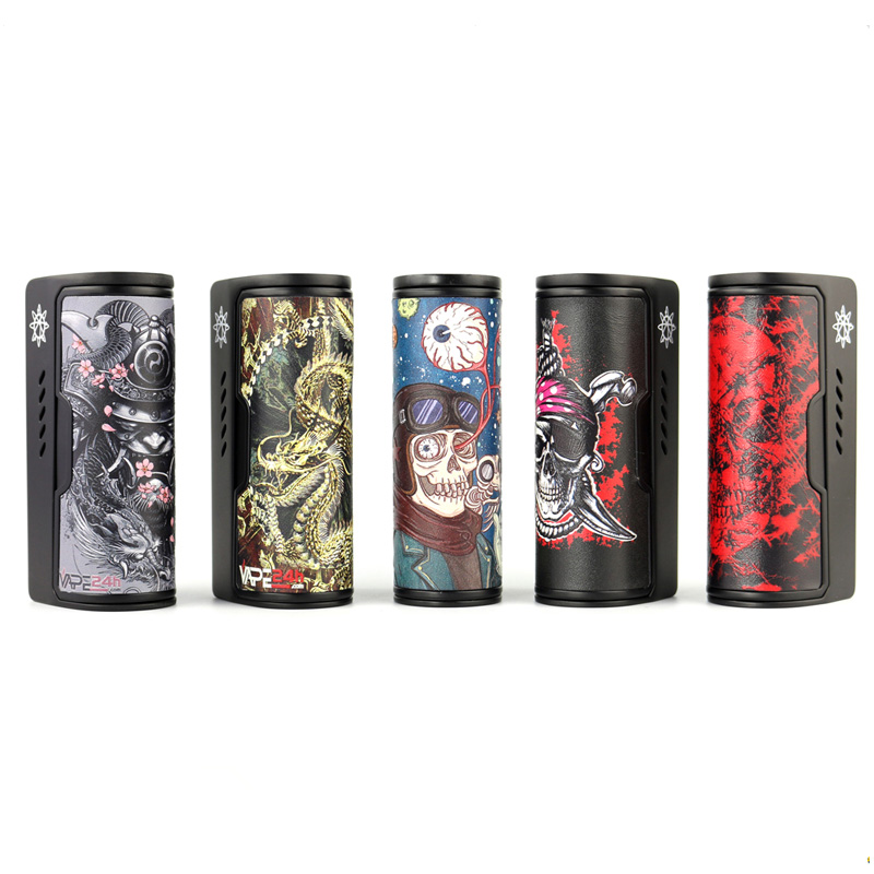 34 tipi di DOVPO Rogue 100 W Box mod Genuino elektronik sigara 100 W Box Mod vape e sigaretta mod misura 18650 e 26650 batteria
