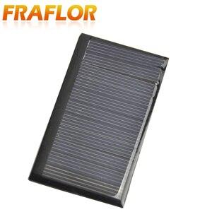 Image 4 - Fraflor Panel Solar portátil para cargador de batería, 10 Uds., 0,42 W, 5,5 V, 80x45x3mm, envío gratis, fuente de alimentación de emergencia de células solares