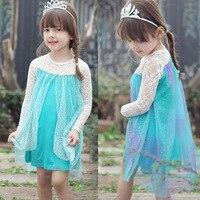2016 Girl Skirt Ice Snow From Point Princess Children's Garment Directly Group tulle kids skirt1526263128