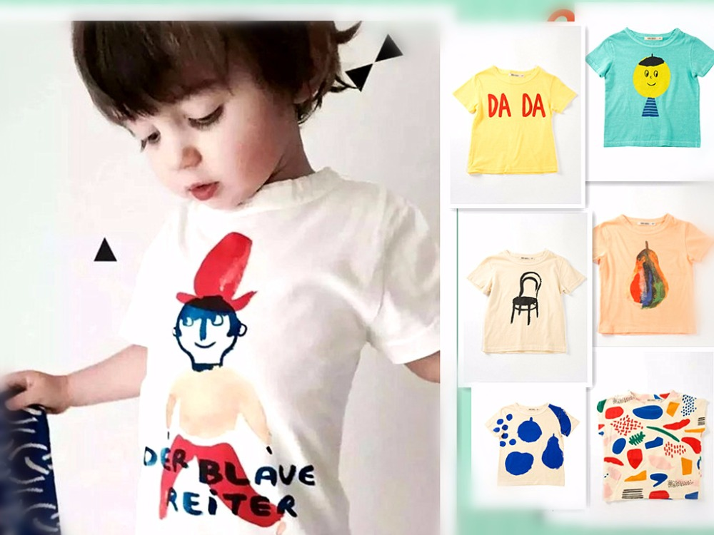 9 COLORS 2017 bobo choses t-shirts top tank children's clothing KIDS SUMMER CLOTHES BABY BOY CLOTHES FAMILY WEARS GIRLS CLOTHES