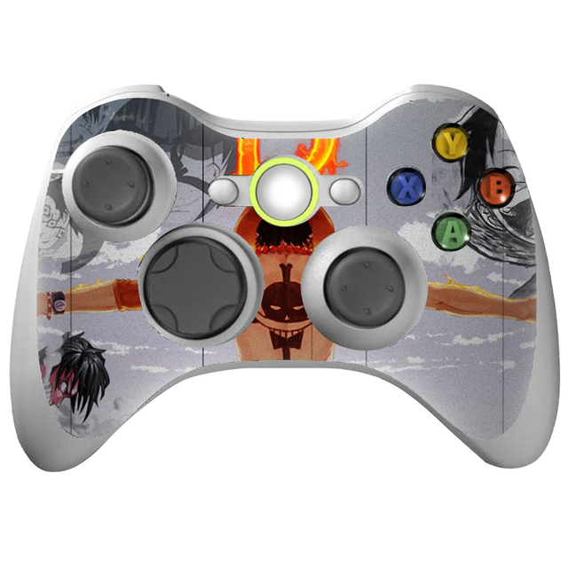 US $1 68 |2 pcs waterproof OEM and factory price and customizable skin for  Xbox 360 and for xbox 360 Slim Controller #XBOX360ctrl 0370-in Stickers