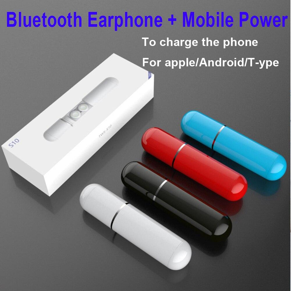 Écouteurs sans fil intra-auriculaires portables Bluetooth écouteurs Super basses TWS V5.0 étanche IPX6 réduction du bruit PK i10 I12 W1 I30