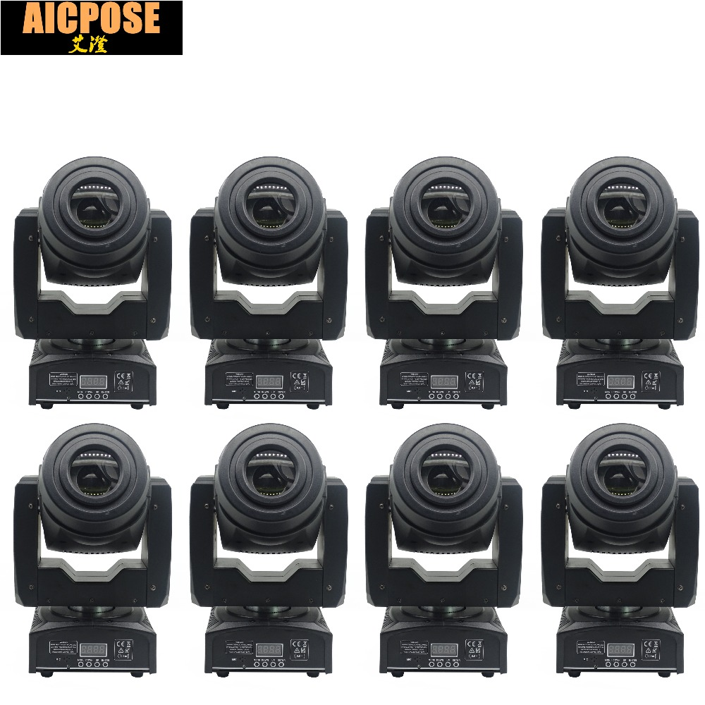 8units 60W LED Moving Head Light 3 Face Prism Spot Light with Rotation Gobo Function DJ Disco Stage Projector Dmx 4/15 Channels8units 60W LED Moving Head Light 3 Face Prism Spot Light with Rotation Gobo Function DJ Disco Stage Projector Dmx 4/15 Channels