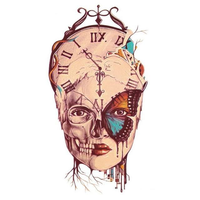 Yeeech Tijdelijke Tattoos Sticker Voor Vrouwen Tijd Pass Romeinse