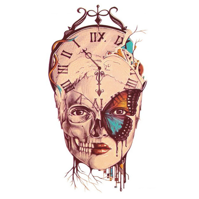 Yeeech Temporal Tatuajes Pegatina Para Las Mujeres Pase Tiempo