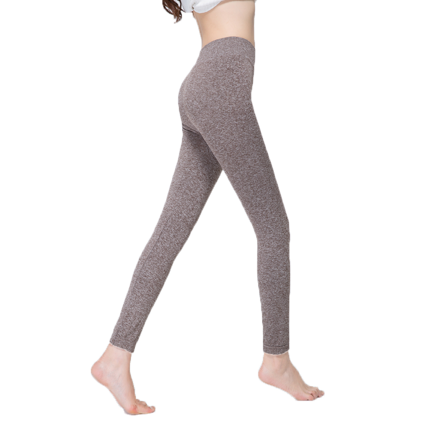 DISSIMILAR Womens High-Waist elastic seamless nanoparticles leggings Bodybuilding Fashion Workout Fitness Clothing Jogger pants