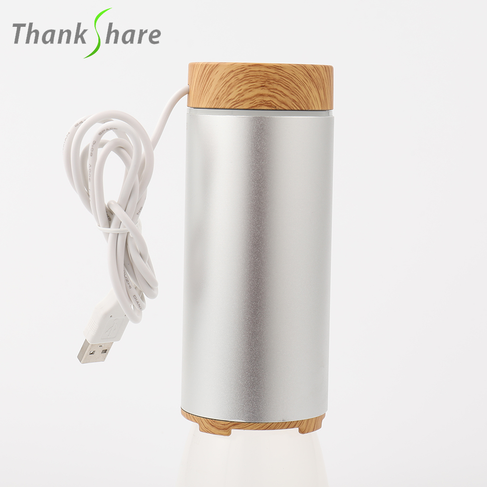 Aroma Air Humidifier for Home Aromatherapy Essential Oil Diffuser USB Car Humidifier Portable Mini Ultrasonic Cool Mist Office thankshar usb lemon aroma diffuser umidificador aromatherapy for car essential oil diffuse portable mini humidifier for home