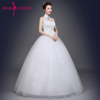Luxury Beading Wedding Dresses Real Photo Appliques Lace Up Back Cheap Bridal Dress Ball Gown Long