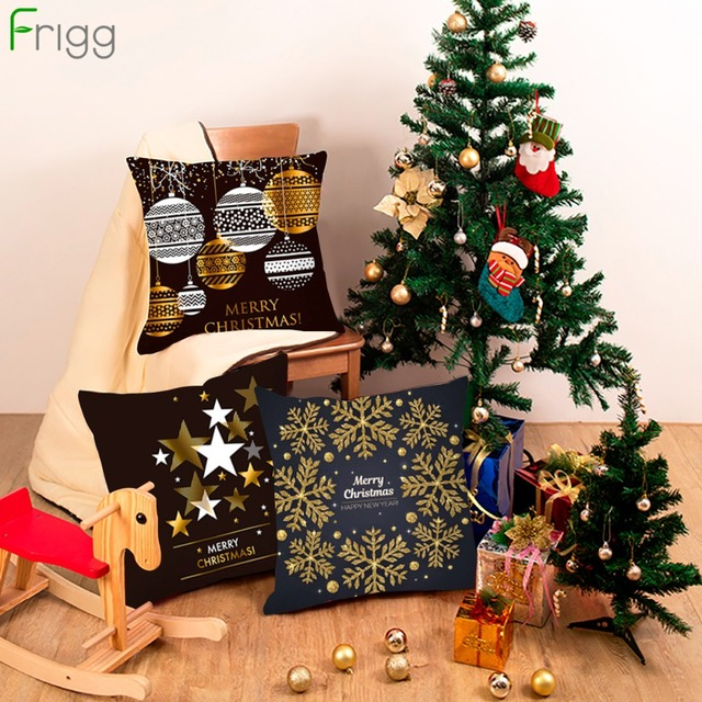 Frigg Di Natale Coperture per Cuscini Decorativo Fodere per Cuscini Divano Cusci