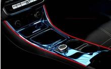 Chrome Accessories Center Storage Box Panel Trim For Mercedes Benz GLA CLA A Class,Car Styling