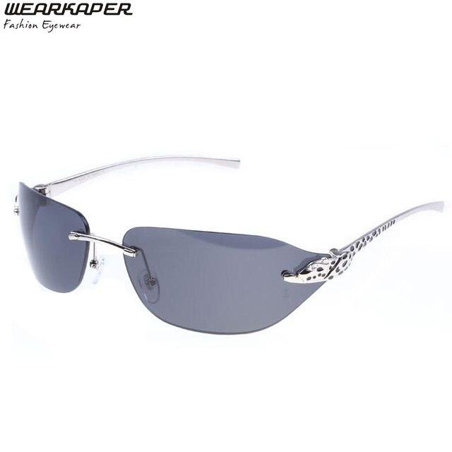 085feb32e9692 WEARKAPER Neo óculos Sem Aro Clássico Matrix Morpheus óculos de Sol UV400  Filme Quadrados óculos de