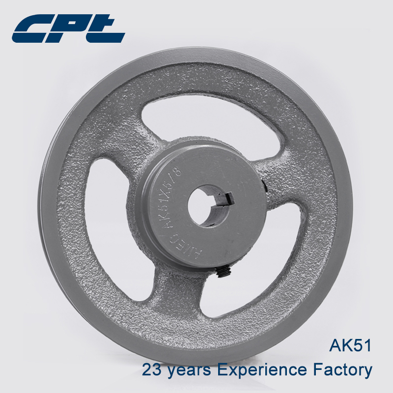 A Type Pulley Double V Groove Bore 22mm OD 100mm for A Belt Motor